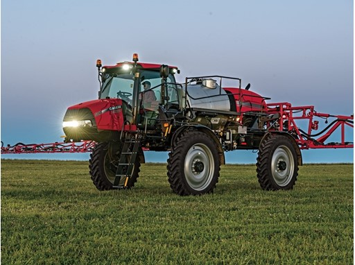 AFS Accuturn Automated headland-turning technology is now available on Case IH Patriot series sprayers