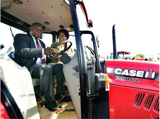 Northmec completes multiple Case IH tractor order in presence of South African president