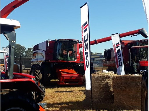 Case IH at the 2019 ADMA Agrishow in Zimbabwe