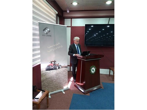 Case IH attending the Corporate Farming Conference at the Ministry of Agricultural Supplies in Iraq