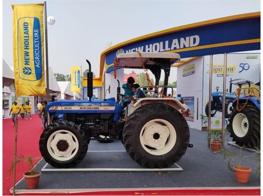 New Holland Agriculture at Krishi Darshan Expo in Hisar