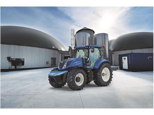 New Holland T6 Methane Power Tractor is crowned Sustainable Tractor of the Year 2020
