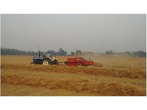 New Holland Agriculture  solutions to combat the practice of burning crop-residue and stubble