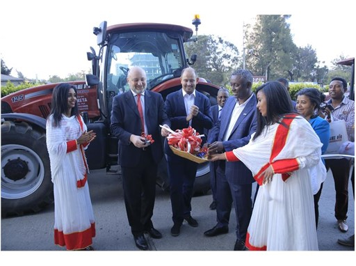 The appointment of Wereta was celebrated at a ceremony in Addis Ababa