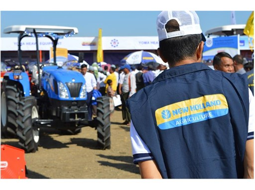 New Holland at Agritechnica Asia Live exhibition in Myanmar