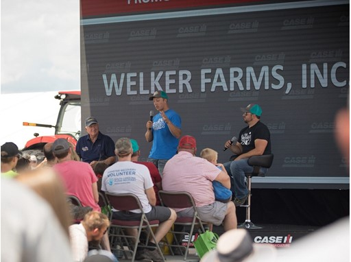 The newly formed partnership between Case IH and Welker Farms Inc. aims to inspire future farmers.