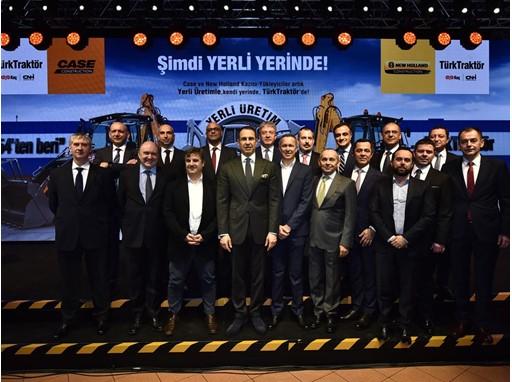 TürkTraktör management together with CNH Industrial and Koç Group representaties