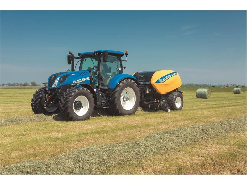 CNH Industrial Newsroom : New Holland Roll Baler 125 and Roll Baler