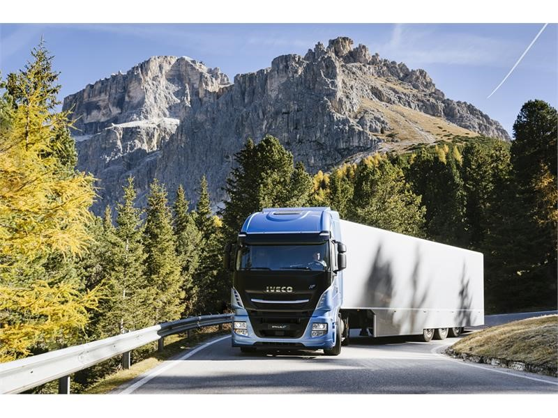CNH Industrial Newsroom : IVECO strengthens its leadership in LNG trucks