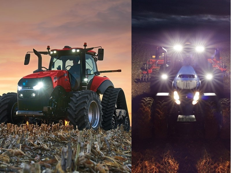 Case IH Announces AFS Connect Magnum Series Tractors and New Holland launches GENESIS® T8 Series tractor with PLM Intelligence™