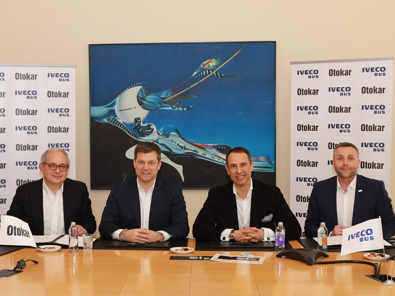 Otokar and IVECO BUS sign production agreement