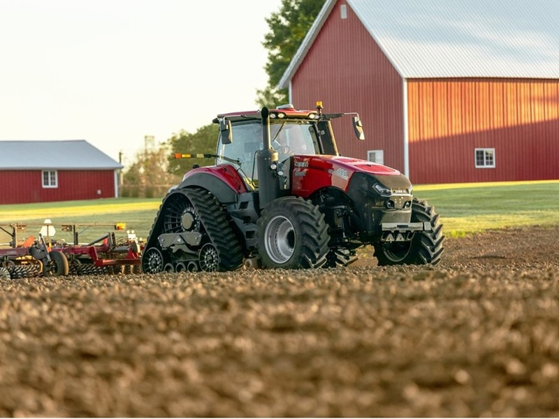AFS Connect® Magnum series tractor