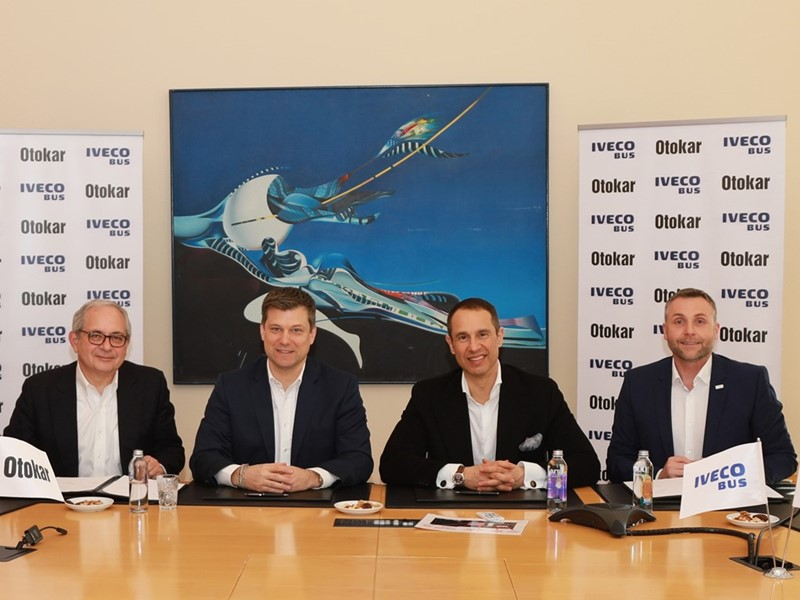 IVECO BUS и Otokar подписали производственное соглашение