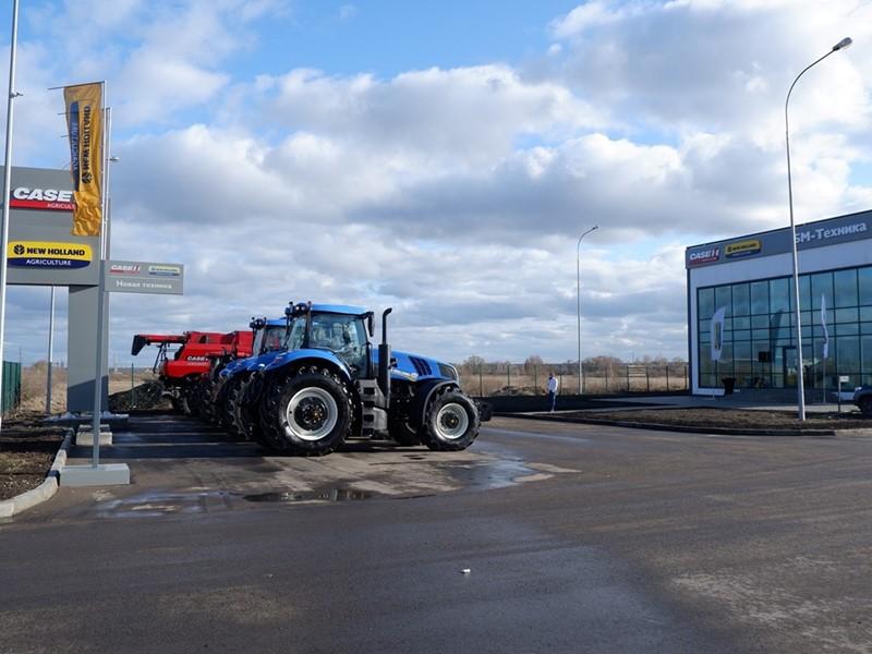 В Тамбовской области открыт новый дилерский центр сельскохозяйственной техники Case IH и New Holland Agriculture