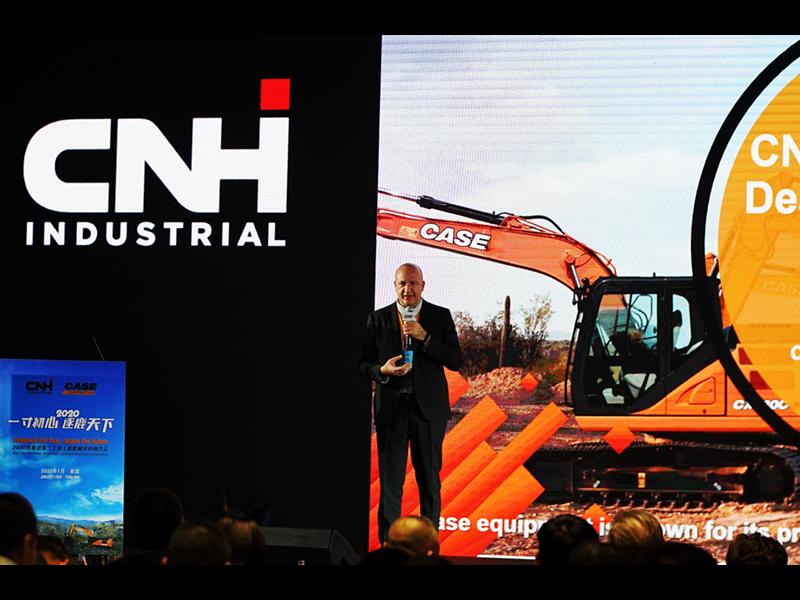 2020凯斯纽荷兰工业工程机械经销商大会完美收官