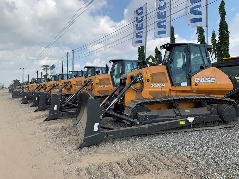 CASE Construction Equipment has delivered a total of 125 machines to Angola