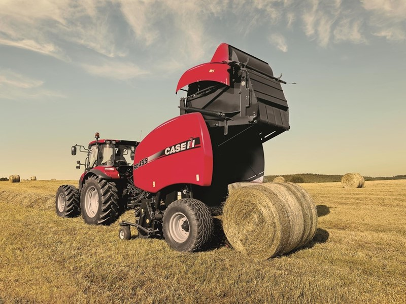 Improvements and upgrades to the Case IH LB4XL large square baler and RB5 round baler series are sure to impress