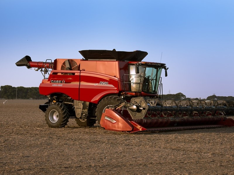 The latest Axial-Flow 250 Series from Case IH offers the ground-breaking AFS Harvest Command technology