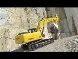 New Holland Construction crawler excavator E385C
