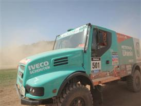 Gerard de Rooy and the Iveco Powerstar at the Les Comes 4x4 Festival in Barcelona