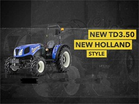 New Holland TD3.50 Tractor: Traditional Simplicilty, Modern Efficiency