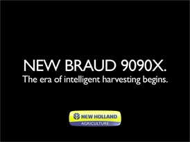 New Holland Braud 9090X: The era of intelligent harvesting begins