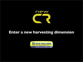 New Holland CR Combine Harvesters: Enter a New Harvesting Dimension