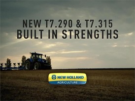 New Holland T7 Heavy Duty tractors: Built in Strengths