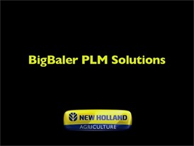 New Holland BigBaler PLM Solutions