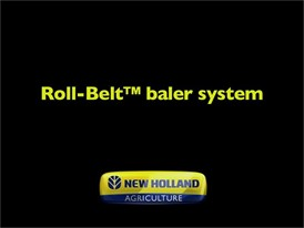 Roll-Belt™ Baler System