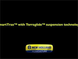 SmartTrax™ with Terraglide™ Suspension Technology