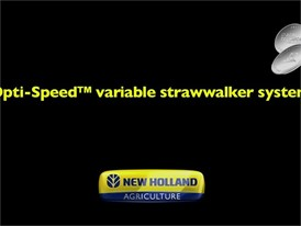 Opti-Speed™ Variable Strawwalker System