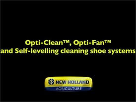 Opti-Clean™, Opti-Fan™ and Self-Levelling Cleaning Shoe Systems
