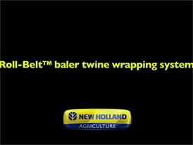 Roll-Belt™ Baler Twine Wrapping System