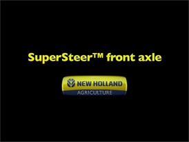 SuperSteer™ Front Axle