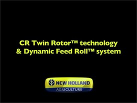 CR Twin Rotor™ Technology & Dynamic Feed Roll™ System
