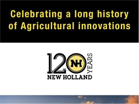 120 Years New Holland Agriculture: Celebrating a Long History of Agricultural Innovations