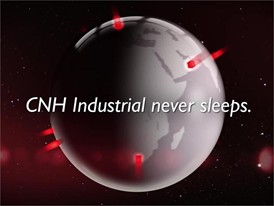 CNH Industrial never sleeps