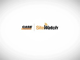 Case Construction Equipment Site Watch