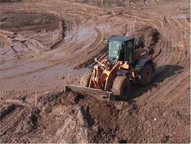 Case Construction Equipment 921F Wheel Loader At Work
