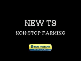 New Holland Agriculture New T9: Non-Stop Farming