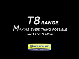 New Holland T8 Range: Making Everything Possible and Even More
