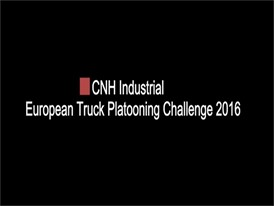 Behind the Wheel: Iveco Truck Platooning