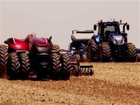 凯斯纽荷兰工业集团发布无人驾驶概念拖拉机研发成果 - Video