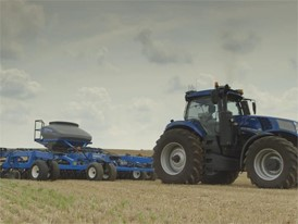 New Holland Agricultural Concept Autonomous Tractor Media Rushes