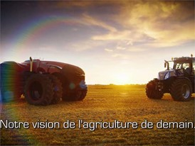 French - CNH Industrial Autonomous Concept Tractor Short Video