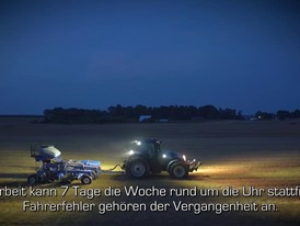 German - New Holland NHDrive Concept Autonomous Tractor Video