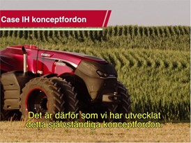 Swedish - Case IH Autonomous Concept Vehicle Video