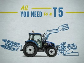 New Holland Agriculture T5 Tractor