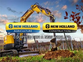 New Holland Construction Mini Excavator Video